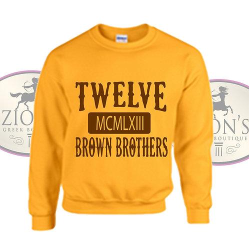 BROWN BROTHERS SWEATSHIRT