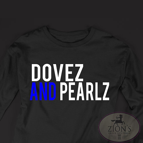 DOVES AND PEARLS DESIGN