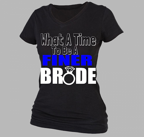 FINER BRIDE V-NECK