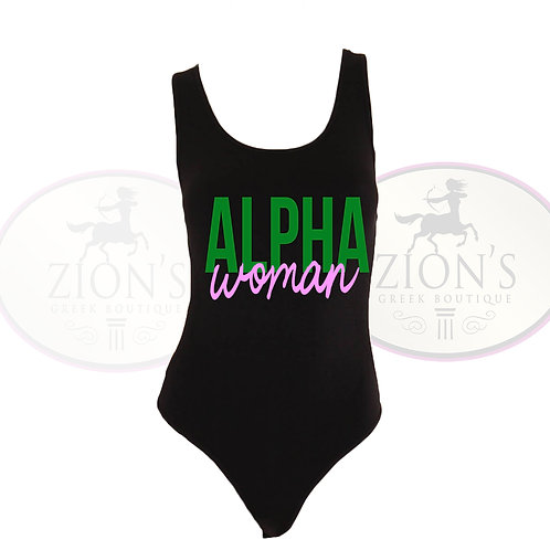 SORORITY WOMAN BODYSUIT