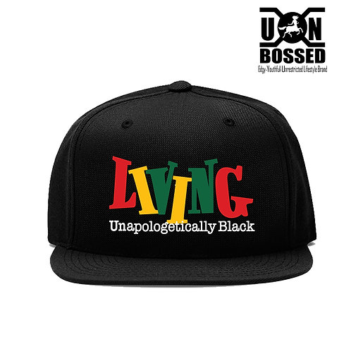 LIVING UNAPOLOGETICALLY BLACK HAT