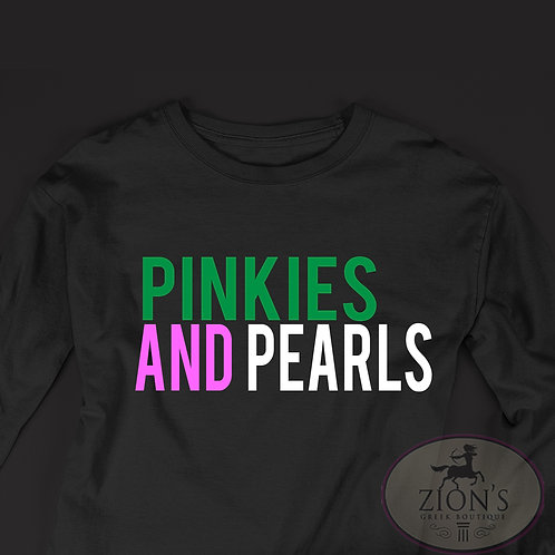 PINKIES AND PEARLS DESIGN