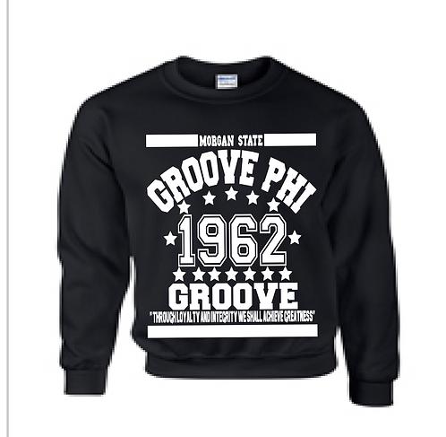 GROOVE PHI GROOVE COLLEGIATE SWEATSHIRT