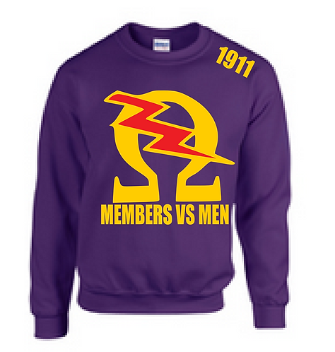 OMEGA MEMBERS VS MEN SWEATSHIRT