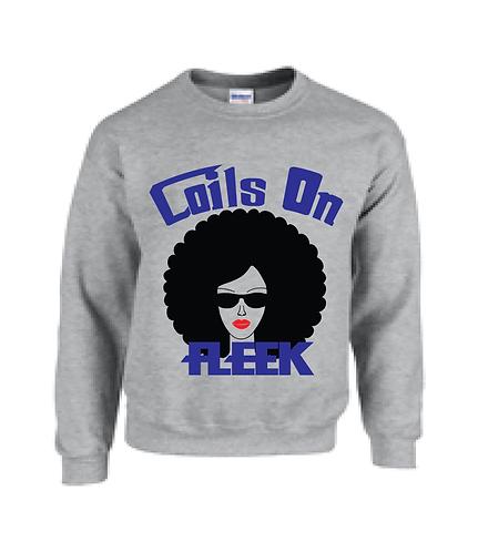 Coils on Fleek Sweatshirt