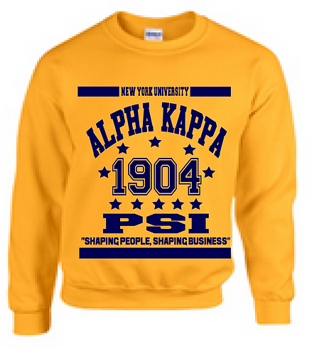 ALPHA KAPPA PSI COLLEGIATE SWEATSHIRT