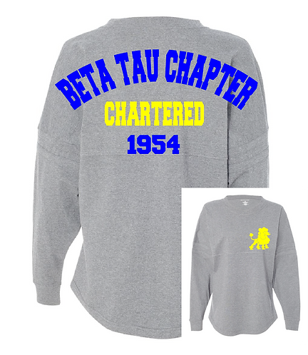SGRHO CHAPTER GLITTER SPIRIT JERSEY