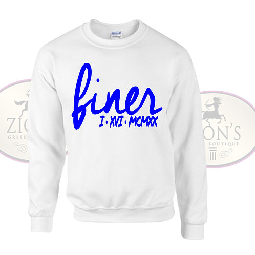 FINER SWEATSHIRT