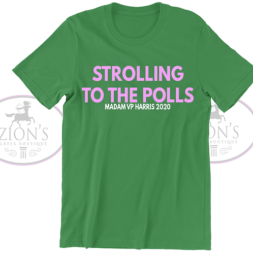 STROLLING TO THE POLLS DESIGN