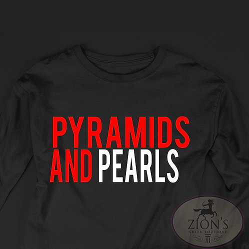 PYRAMIDS AND PEARLS DESIGN