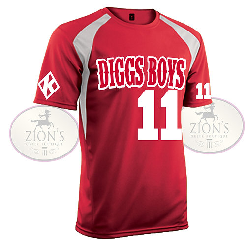 DIGGS SOCCER JERSEY