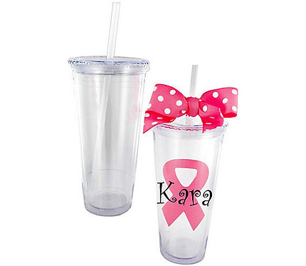 Clear 24 oz. Double Wall Tumbler