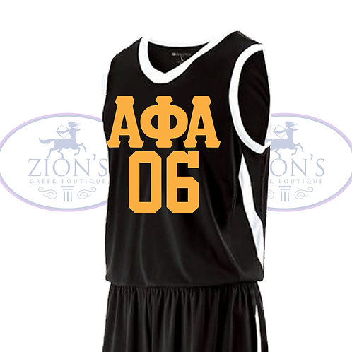 ALPHA BASKETBALL JERSEY