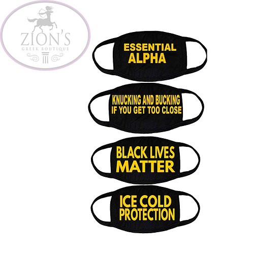 ICE COLD THEMED MASK COLLECTION