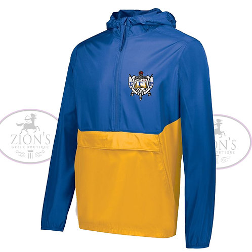 SGRHO COLOR BLOCK JACKET