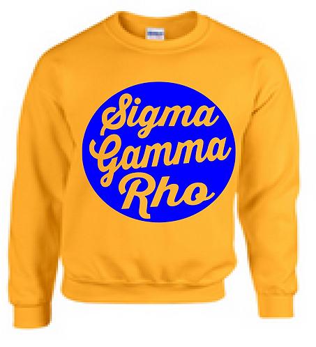 SIGMA GAMMA RHO CIRCLE CREWNECK