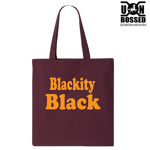 Blackity Black Tote