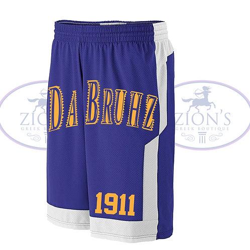 DA BRUHZ REVERSIBLE BASKETBALL SHORTS