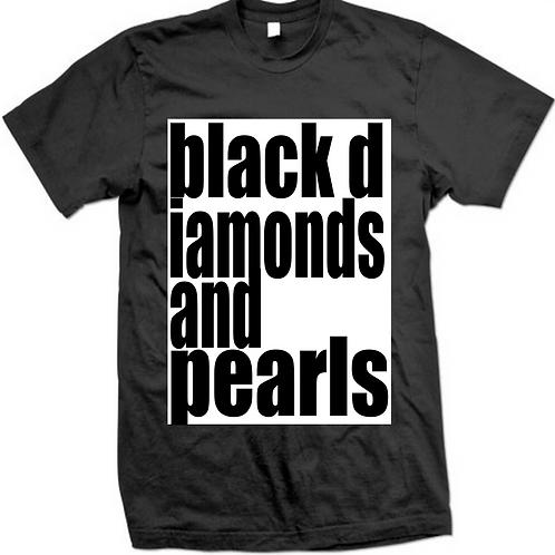 BLACK DIAMONDS AND PEARLS
