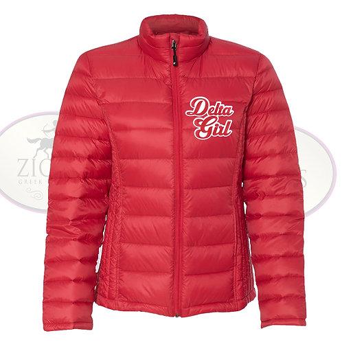 Delta Girl Packable Puffer Jacket