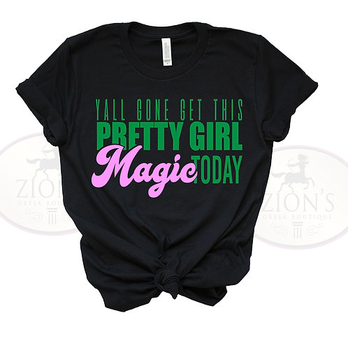 PRETTY GIRL MAGIC DESIGN