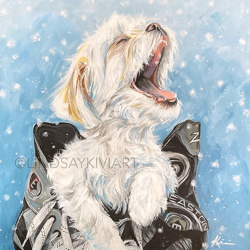 """Shichon"" Print on Unstretched Canvas"