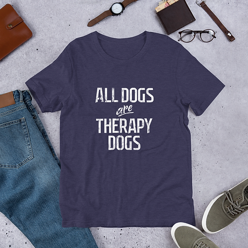 "Men's ""Therapy Dogs"" Tee"