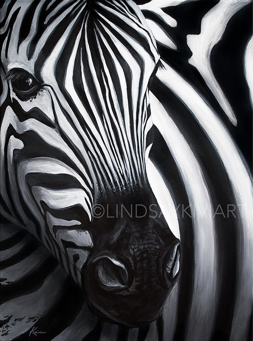 """Stripes"" Fine Art Print"