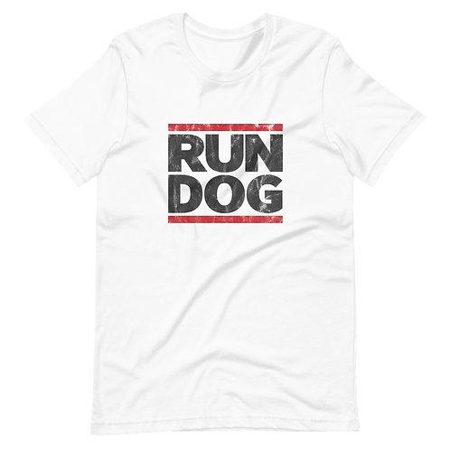 """Unisex """"RUN DOG"""" Tee"""