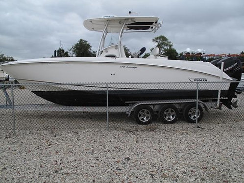 2011 Boston Whaler 270 Outrage