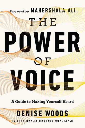 The Power of  Voice by Denise Woods w/signed bookplate