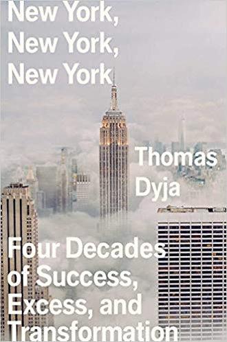 Signed bookplate! 'New York, New York, New York' by Thomas Dyja