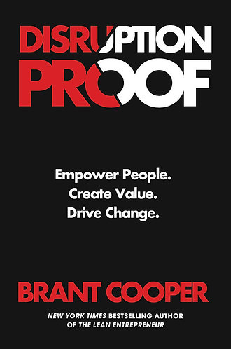 Pre-Order! DISRUPTION PROOF by Brant Cooper w/signed bookplate