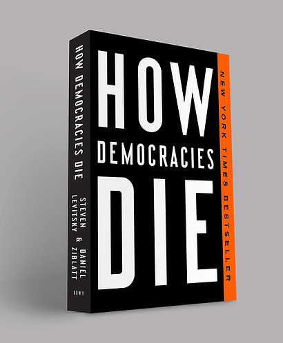 Signed Bookplate! How Democracies Die by Steven Levitsky & Daniel Ziblatt