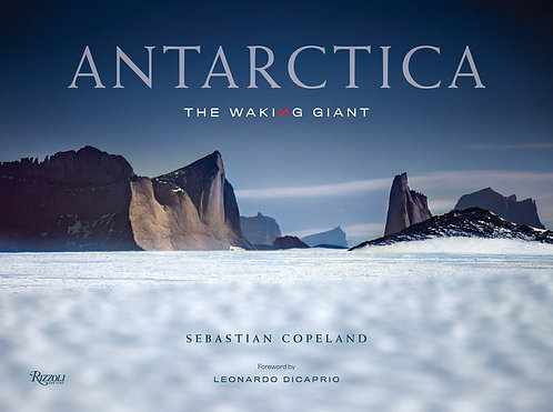 ANTARCTICA by Sebastian Copeland, with signed book plate!