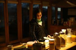 Desayuno en Errante Ecolodge