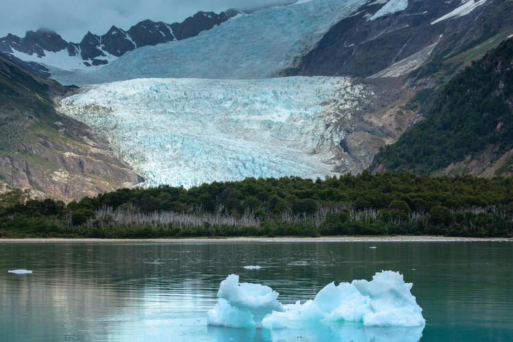 Glaciar Nueva Zelanda - Tierra del Fuego