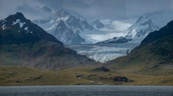 Monte Shipton y Glaciar Marinelli