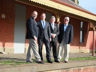 HISTORIC AVOCA STATION TO BE TRANSFORMED INTO ARTS HUB
