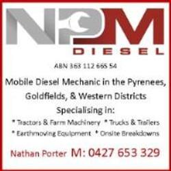 Nathan Porter Diesel Mechanic