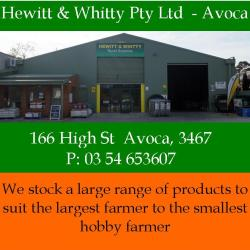 Hewitt & Whitty Ad