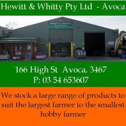Hewitt & Whitty Ad