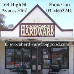 Avoca Hardware_Ad250
