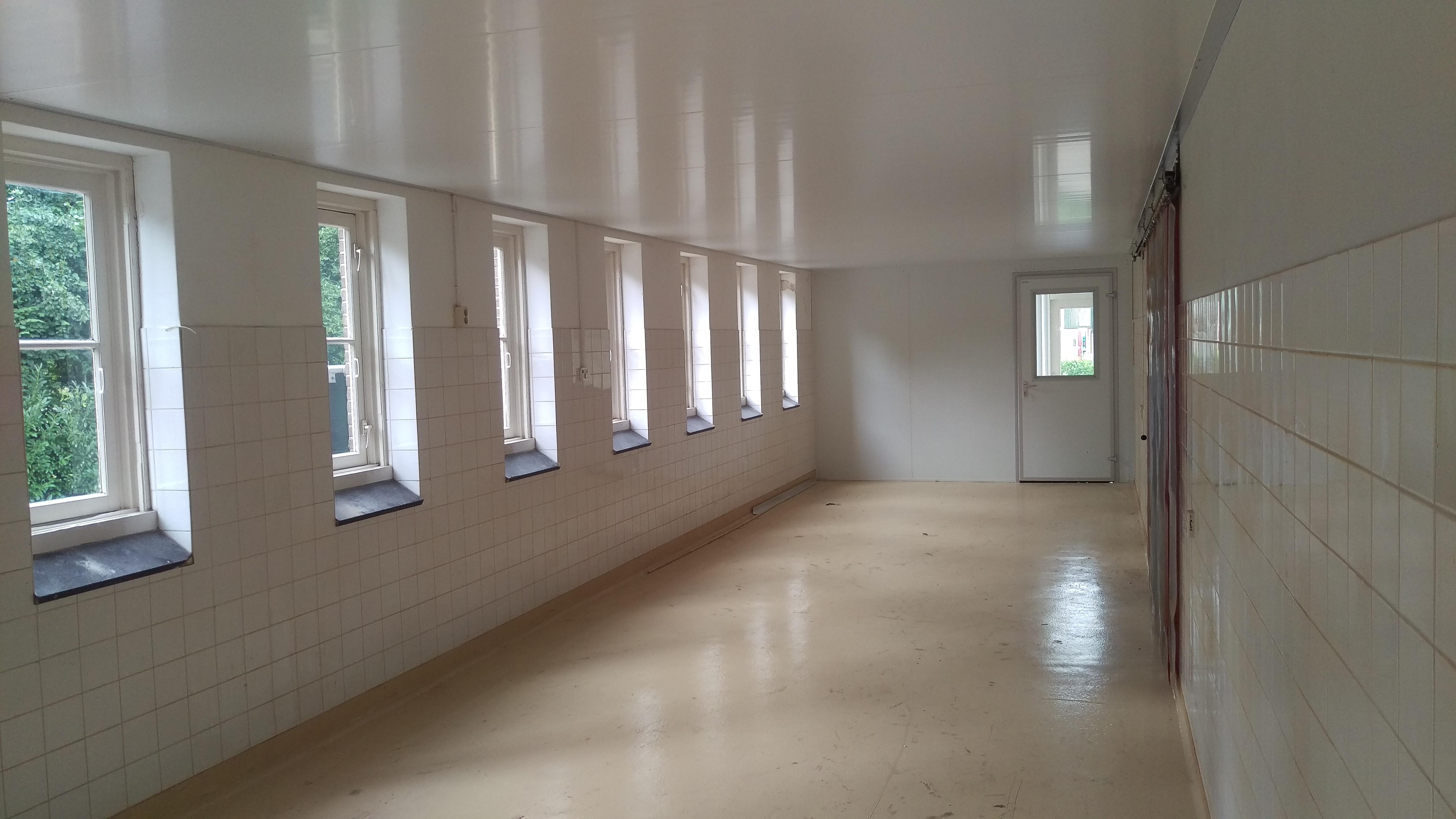 Plafond werkruimte