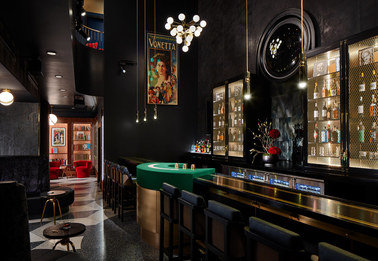 Chicago Magic Lounge // Twofold Studio