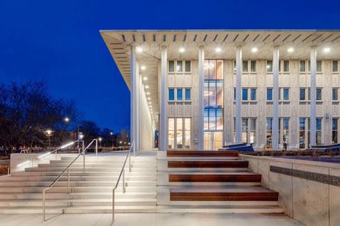 University of Chicago Harris School of Public Policy - Keller Center // International Living Future Institute
