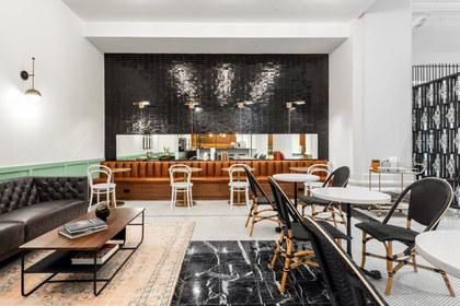 Kim Lewis Designs // Tellers Coffee