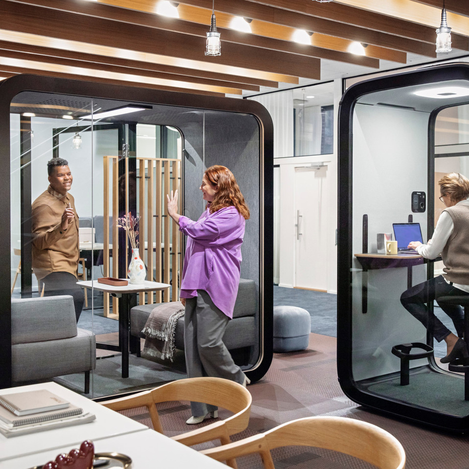 FRAMERY | FRAMERY ONE, WORLD'S FIRST CONNECTED SOUNDPROOF POD