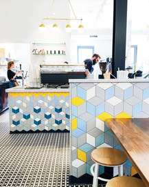 The Bachelor Farmer Cafe // Mercury Mosaics