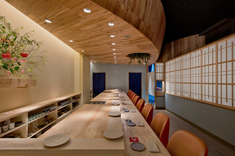 Sushi Restaurant // Pioneer Millworks